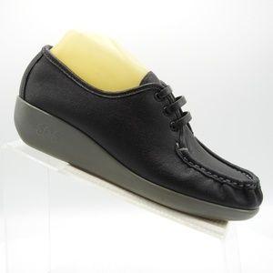 SAS Siesta J6881637 Size 9.5 Black Womens C2B C51